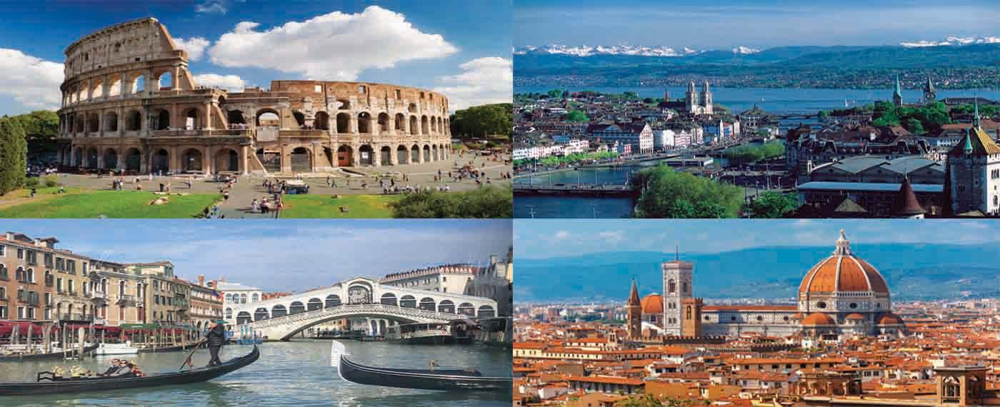 ITALY & SWITZERLAND