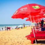goa bed-beach